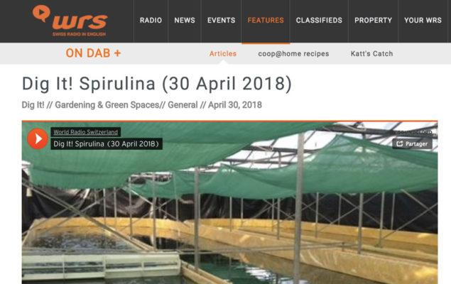Vidéo reportage World Radio Switzerland avril 2018